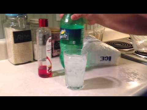 How To Make A Shirley Temple Kids Drink Non-Alcoholic