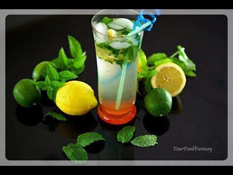 Easy Mojito(Virgin) Drink 2017