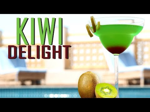 Kiwi Delight Mocktail | Mocktail Recipe | Kiwi Fruit Recipe | Indian Mocktail | Cook Book Videos
