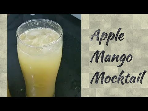 Apple Mango Mocktail with Ginger flavour ||  English subtitle
