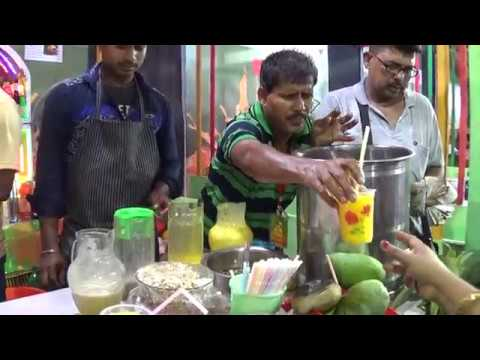 Special Mango, Pineapple, Black Grapes & Mixed Fruit Juice, Shake, Mock-tail Etc | Street Food India