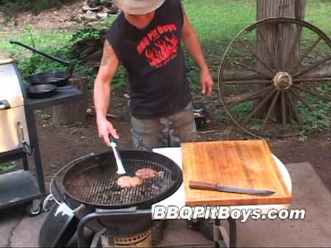 Whiskey Burgers by the BBQ Pit Boys