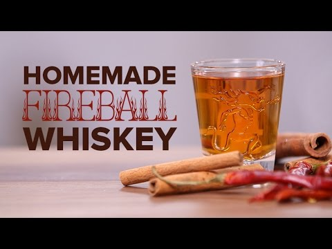 How to Make Fireball Cinnamon Whiskey at Home | Happiest Hour