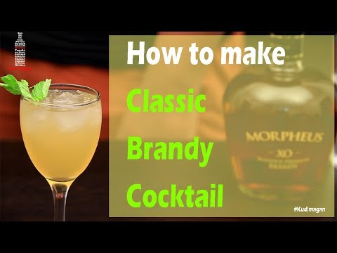 Classic Brandy Cocktail | How to make Brandy Cocktail at Home | Morpheus Brandy