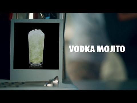 How to make an Absolut Vodka Mojito Cocktail | Recipe