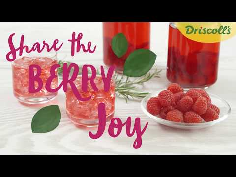 Raspberry Infused Vodka Recipe - Driscoll's