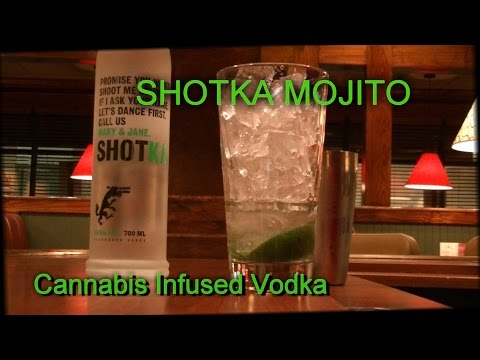 Shotka Cannabis Infused Vodka Epic Mojito Best Recipe