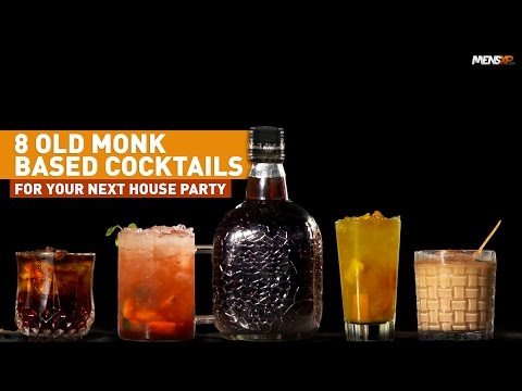 MensXP: Top 8 Old Monk Cocktails | How To Make Rum Cocktails
