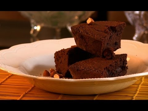Delicious Rum & Almond Chocolate Brownies By Nikhil - Brownie Recipe For Valentine Day