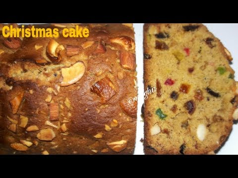 INSTANT CHRISTMAS RUM CAKE || CHRISTMAS  FRUIT CAKE RECIPE WITHOUT SOAKING DRY FRUITS