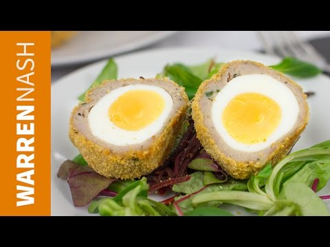 Baked Scotch Egg Recipe - Oven cooked picnic classic - Recipes by Warren Nash