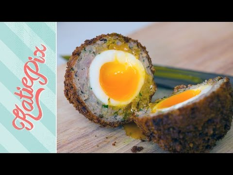 Homemade Scotch Egg Recipe | Katie Pix