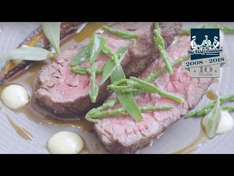 Scott Smith from Fhior Edinburgh creates a Scotch Beef bavette recipe with seaweed