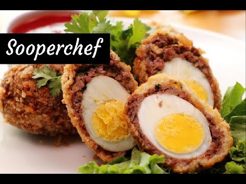 Scotch Eggs Recipe | How to make Scotch Eggs by SooperChef