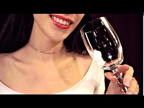 ASMR Friend Roleplay Wine Tasting - Drinking Sounds 🍾