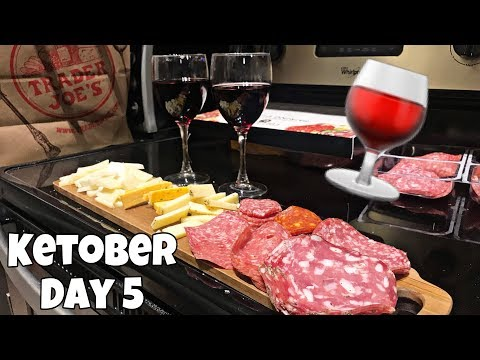 KETOber Day 5 | Making a Charcuterie Board and Drinking too Much Wine (oops)