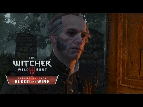 The Witcher 3: Blood and Wine - Walkthrough Part 8: Drinking with Regis [No Hud] [Death March]