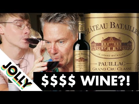 Does More Expensive Wine Taste Better? ($1000 vs $40 vs $5) // with British Gentleman: Ollie's Dad