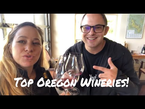 OREGON WINE - TOP PLACES to go WINE TASTING🍷- vlog