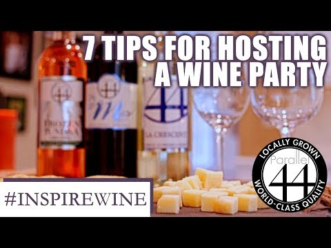 7 Essential Tips to Host A Wine Tasting