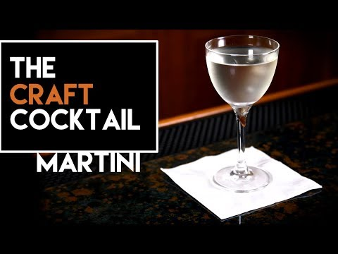 🍸 How To Make A Gin Martini 🍸 / Easy Gin Cocktails