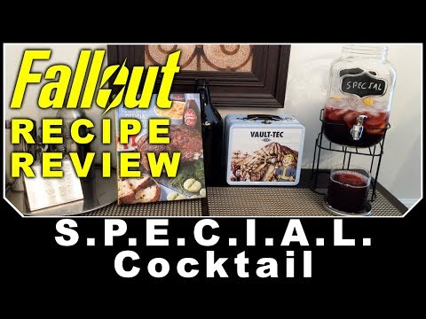 Fallout Recipe Review - S.P.E.C.I.A.L. Cocktail