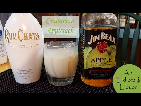 Cinnamon AppleJack Cocktail Recipe w/ Jim Beam Apple and Rum Chata | Pinteresting