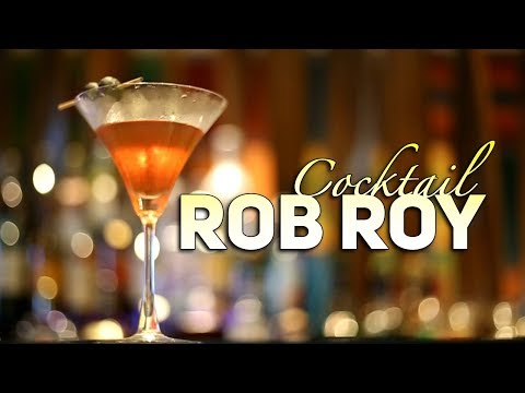 How To Make Rob Roy Cocktail | Cocktail Recipe | Easy Recipe | Ibis Styles Goa Calangute | Cook Book
