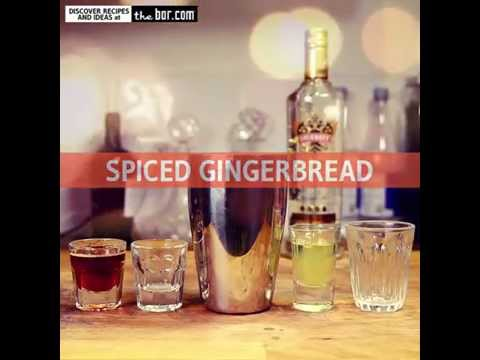 Smirnoff Gold Cocktail Recipe - Spiced Gingerbread