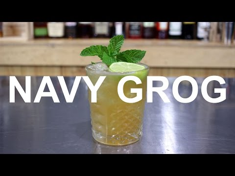 TIKI WEEK: Navy Grog Cocktail Recipe by Don The Beachcomber