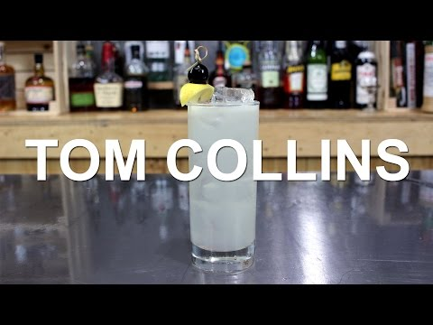 Tom Collins Gin Cocktail Recipe