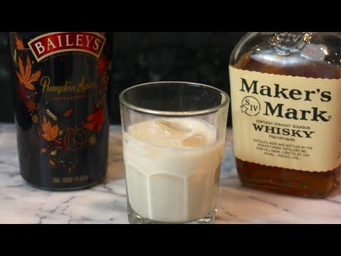 Pumpkin Old Fashioned Cocktail Recipe With Baileys Pumpkin Spice