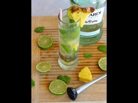 Cocktail Recipe: Pineapple Mojito by Everyday Gourmet with Blakely