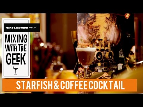 How To Make a Starfish & Coffee cocktail - Mixing With The Geek
